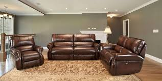 staggering reclining leather sofa sets