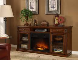 homelegance ruby red tv stand with electric fireplace