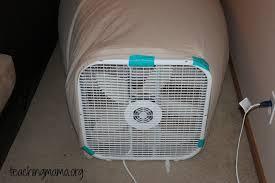sheet fan diy air fort