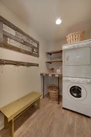 Rustic Laundry Room With Pergo Max 7.61 In W X 3.96 Ft L Hayfield