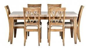 dunedin 7 piece rectangular dining setting