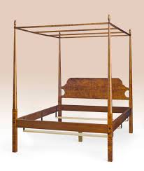 Historical Washington Pencil Post Bed with Canopy
