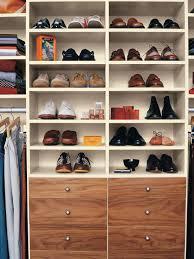 Shelves hanging shoe rack for closet organizer ideas