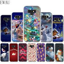 EWAU 2020 <b>New Year Christmas Silicone</b> Mattle phone case for ...