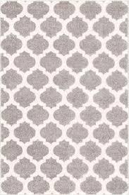 grey trellis rug modern uk