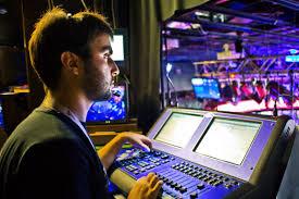 lighting technician. Photo 3 Of 6 Lighting Technician At Work In Booth ( Engineer Salary #3) H
