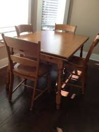 kitchen table and chairs oak good condition 75 nw wichita table and 4 chairs oak honey stain sy and in good condition
