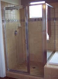 framed glass shower doors. Framed 3 Panel Corner, Chrome Finish, Clear Glass Shower Doors S
