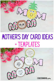 Homemade Card Templates Conservamom Mothers Day Card Ideas Templates Conservamom