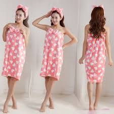 Soft Microfiber Women Girls Shower Body Spa Bath Wrap Towel Bath