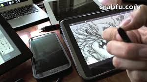 crau review digital art tools pressure sensitive draw on screen you