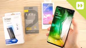Top 3 <b>Samsung Galaxy</b> S10 / S10 Plus <b>Screen Protectors</b> - YouTube
