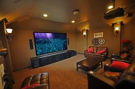 Media Room Decor Wall Decoration Wanmei Projectors Home Ideas Modern Luxury  Interior Design With Exotic Nuance Inside The