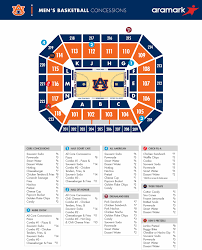 Auburn Seating Chart With Rows 79 Efficient Auburn Basketball Arena Seating Chart