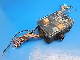 bmw e24 633csi oem complete fuse box assembly harness cut bmw e24 633csi oem complete fuse box assembly harness cut 61131369665