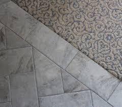 cool carpet to tile transition