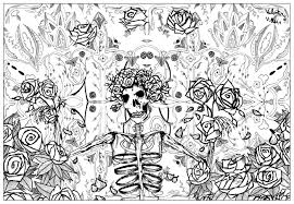 Small Picture Grateful dead art by valentin Psychedelic Coloring pages for