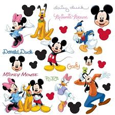 disney mickeys clubhouse wall stickers disney wall decals by roommates kids wall stickers becky lolo