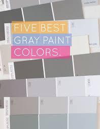 5 Best Gray Paint Colors on www.aliceandlois.com