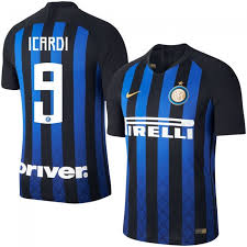 Icardi Inter 2018 2019 Match Vapor Milan Shirt 9 Home