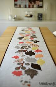 Fall Leaves Table Runner cut with the Silhouette & Instagram ... & Fall Leaves Table Runner cut with the Silhouette & Instagram Giveaway! –  ModernHandcraft Adamdwight.com