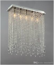 rectangle shape crystal ceiling lights fixture clear curtain crystal light res lamp for dining room and bedroom md10039 rectangle ceiling light curtain