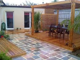 Modele De Terrasse En Beton Top Garage En Bton Pentes Couverture Modele Decoration Terrasse Beton