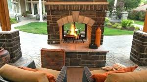 outside brick fireplace glowing outdoor fireplace ideas southern living stylish patio how to build an outdoor