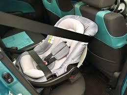 rear facing car seat seat belt
