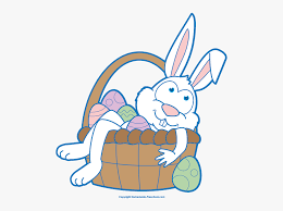 easter bunny happy easter clip art free