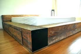 queen size bed frame diy king platform bed with storage free platform bed plans queen size