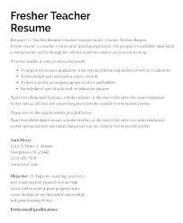 Sample Resume For Teachers Job Kindergarten Teacher Resume Samples Joefitnessstore Com