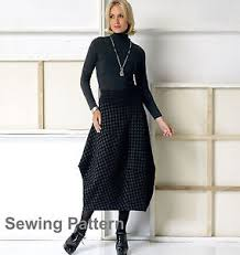 Marcy Tilton Patterns Interesting Vogue V48 Marcy Tilton PATTERN Misses Skirt Size XSM XXL EBay