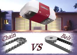 chain drive vs belt drive garage door openerGarage Door Openers LiftMaster Belt VS Chain  Garage Door Blog in