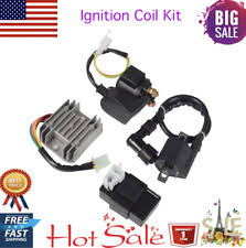 chinese 200cc parts accessories ignition coil relay rectifier cdi kit for chinese atv quad 150cc 200cc 250cc usa