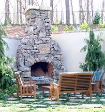 diy outdoor fireplace kit stone outdoor fireplace kits
