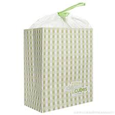 disposable trash cans. Clean Cubes 12 Count Disposable Trash Cans And Recycling Bins For Home Office With Liner Bags A
