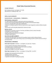 Associate Resume 16 Retail Sales Associate Resume Zasvobodu