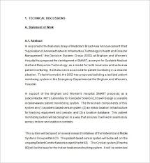sample network proposal technical proposal template 13 free sample example format