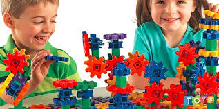 Kids Playing with Gears Interlocking Toy Building Construction Set - Educational Toys Expert Best for 2-3 Year Olds in 2018 |