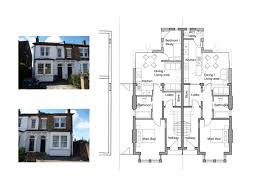 Semi Detached House Plan Awesome Semi Detached House Plans With Garage  Images Best ... Semi Detached
