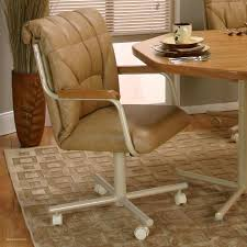 neutral oak dining chairs with casters of kitchen table with caster chairs fresh chair superb swivel dining
