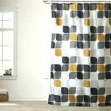 bed bath and beyond extra long shower curtain bathroom captivating