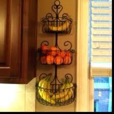 wall fruit basket wall mounted fruit basket designs wallpapers .