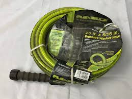 details about flexzilla pressure washer hose 5 16 in x 25 ft legacy usa 3600 psi cold water