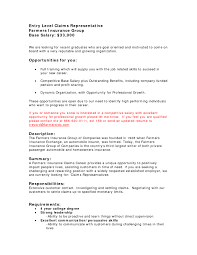 Best Hd Insurance Adjuster Resume Entry Level Claims Insurance