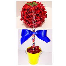 Snow White Inspired, Handmade Poison Apple Centerpiece Decor, Snow White  Candy Topiary, Disney