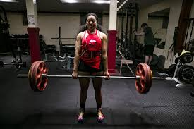 sachie dubose 18 lifts during a friday session at columbia city fitness center