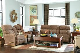 la z boy pinnacle reclining living room group the furniture lazy coffee table with ottomans