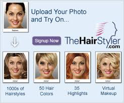 view yourself in over 8 000 hairstyles